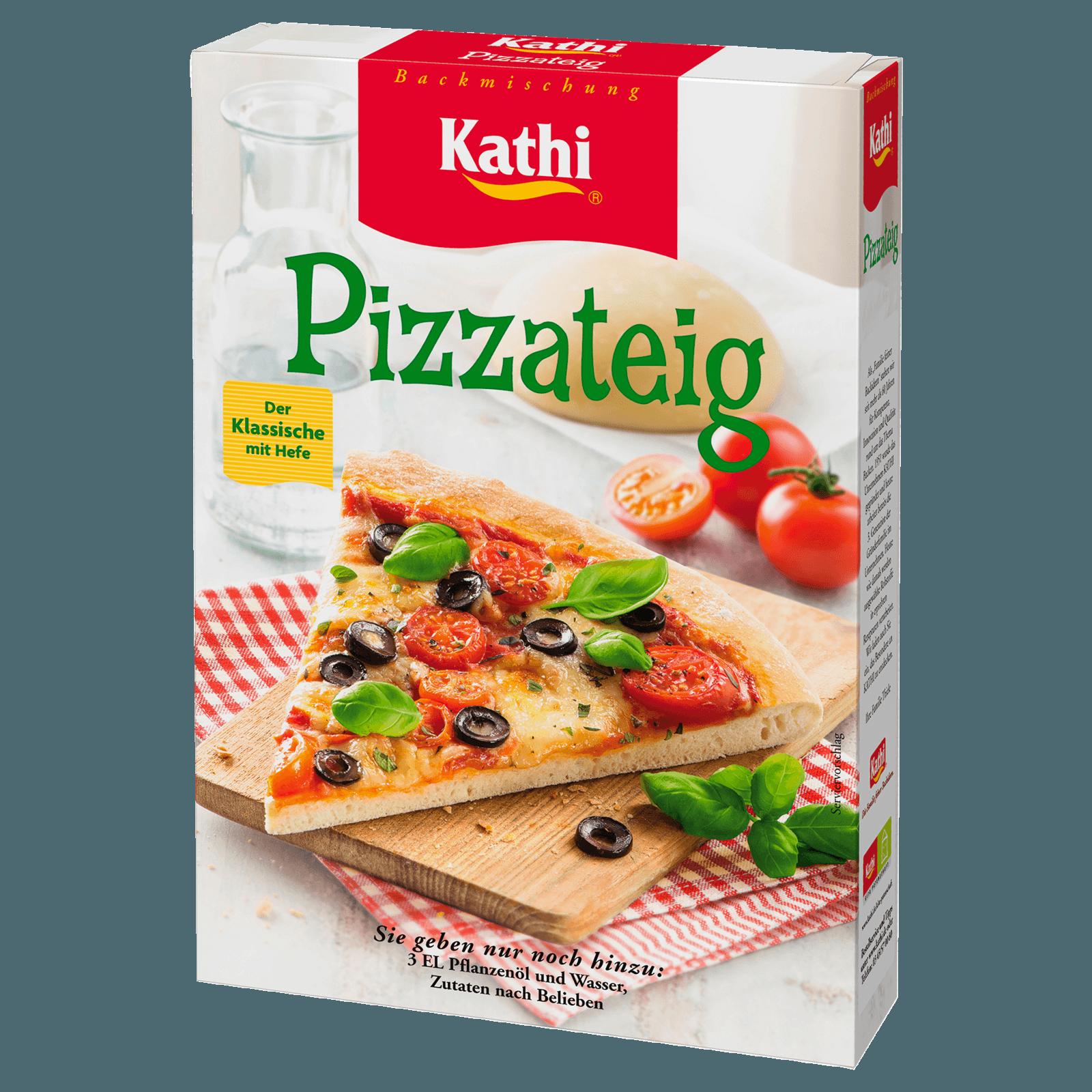 Klassischer pizzateig