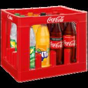 Coca-Cola*,  Coca-Cola Zero*, Fanta  oder Sprite Mischkasten